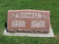 "Matred Pearl ""Pearl"" <I>Prichett</I> Boswell"