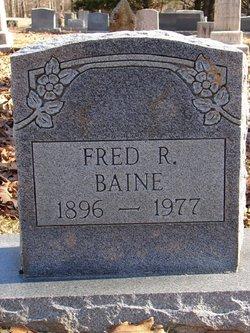 Fred R. Baine
