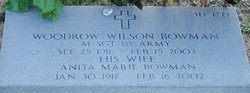 Woodrow Wilson Bowman