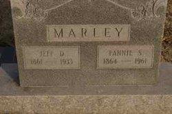 """Frances Salina """"Fannie"""" <I>Garrett</I> Marley"""