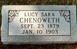 Lucy Sara <I>Miller</I> Chenoweth
