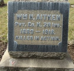 Pvt William H. Aitken