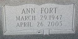 Ann <I>Fort</I> Bedgood