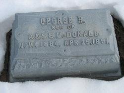 George H McDonald
