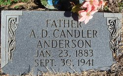 "Allen Daniel Candler ""Can"" Anderson"