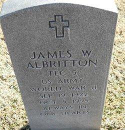 James W Albritton