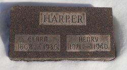 Clara <I>Bland</I> Harper
