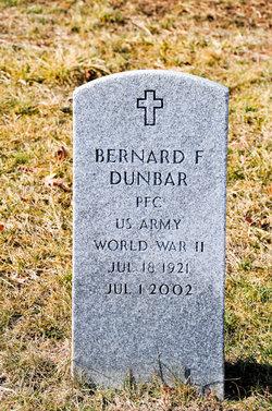 Bernard F Dunbar