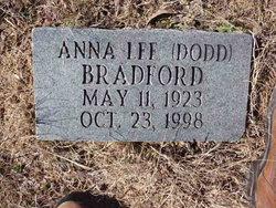 Anna Lee <I>Dodd</I> Bradford