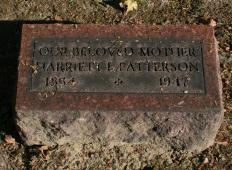 Harriet L. <I>Wilson</I> Patterson