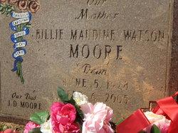 Billie Maudine <I>Watson</I> Moore