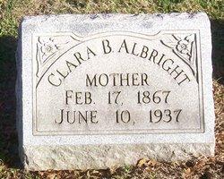 Clara Belle <I>Bricker</I> Albright