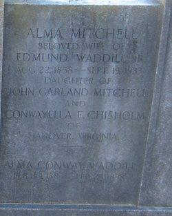 Alma Conway <I>Mitchell</I> Waddill