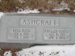 Phyllis <I>Yeates</I> Ashcraft