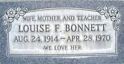 Louise Frances <I>Tout</I> Bonnett