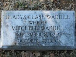 Gladys <I>Cease</I> Waddill