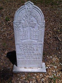 Rosie Elizabeth <I>Carr</I> Thomas
