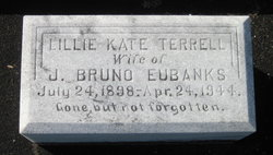 Lillie Kate <I>Terrell</I> Eubanks