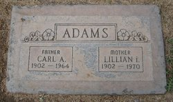 Lillian I Adams