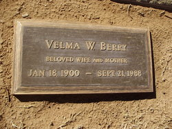 Velma Gay <I>Weilenman</I> Berry