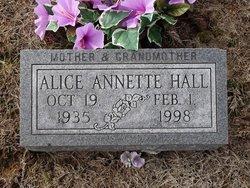 Alice Annette <I>Reynolds</I> Hall