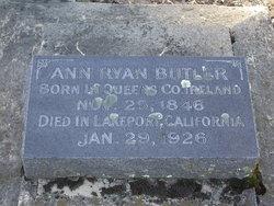 Ann <I>Ryan</I> Butler