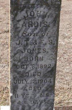 John Ardis Jones