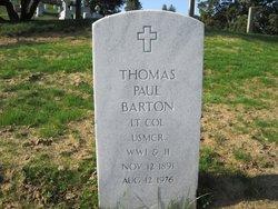 Thomas Paul Barton
