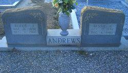 Bessie <I>Crutchfield</I> Andrews