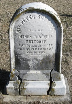 Rev Peter Henry Bottorff, Sr