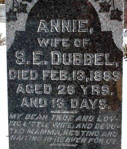 Mrs Annie Grace <I>Oller</I> Dubbel