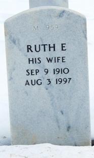 Ruth Ellen <I>Hatfield</I> Cruse