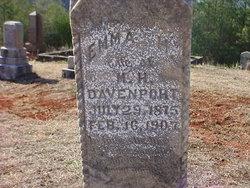Emma Howard <I>Barclay</I> Davenport
