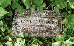 Jennie <I>Rose</I> Childers