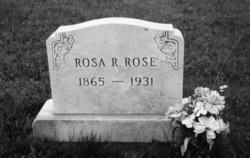 Rosa R. <I>Paige</I> Rose
