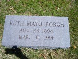 Ella Ruth <I>Mayo</I> Porch