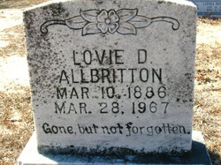 Lovie D. Allbritton