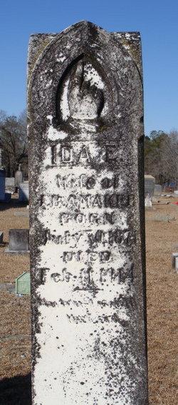 Ida E <I>Cook</I> Amaker