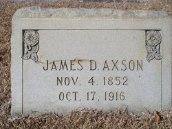 James DeLoach Axson