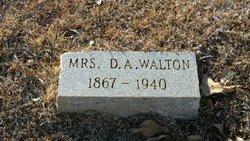 """Theodosia Ann """"Dosia"""" <I>Thompson</I> Walton"""