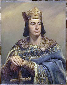 "Philippe II Augustus ""the God-given"" of France"