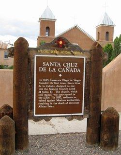 Church of Santa Cruz de la Canada Cemetery