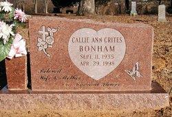 Callie Ann <I>Crites</I> Bonham