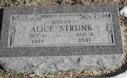 Martha Alice <I>Swank</I> Strunk