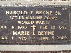 Harold F Beyne, Sr