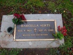 Marcella <I>Johnson</I> Aerts