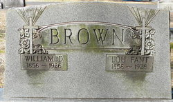Lou <I>Fant</I> Brown