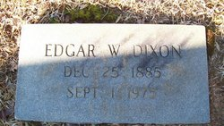 Edgar William Dixon
