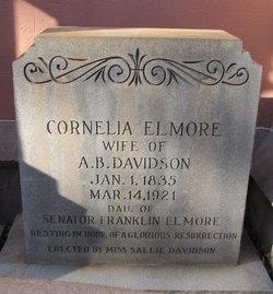 Cornelia <I>Elmore</I> Davidson