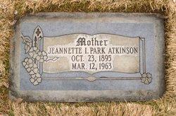 Jeannette <I>Park</I> Atkinson